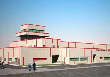 3. Airport Fire and Rescue Center is Built